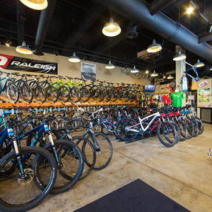 Eastside Cycles in Boise carries Rocky Mountain, Ridley, Raleigh, and Felt bike lines.