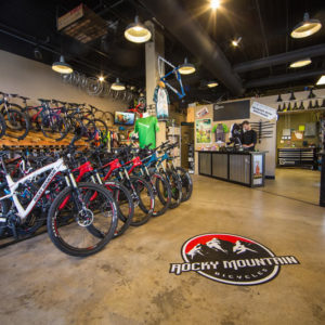 Eastside Cycles in Boise carries Rocky Mountain bikes.
